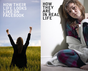 FACEBOOK AND REAL LIFE